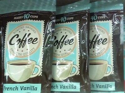 French Vaillia Coffee: Lot of 3
