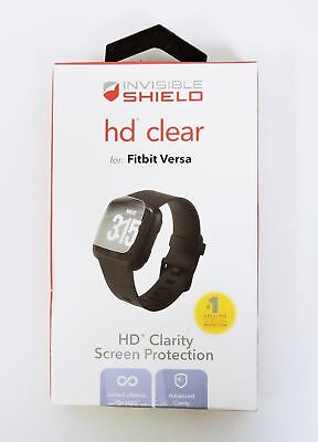 ZAGG InvisibleShield HD Clear for Fitbit Versa - Crystal Clear