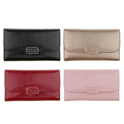 Womens Evening Clutch Bag Envelope Wedding Party Handbag Purse Chain Wallet