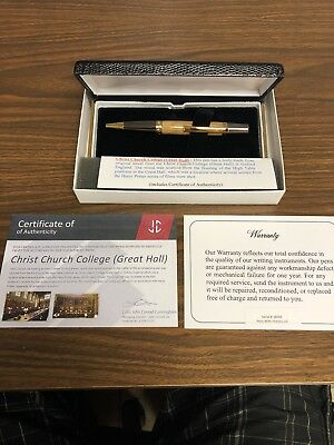 Pens with History, Pen made with wood from wood from Christ Church College