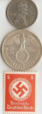 - *ww2   -  *us  and   *german      coins  and  stamps