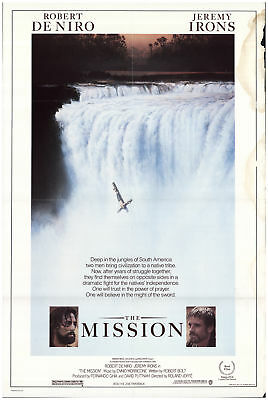 The Mission 1986 27x41 Orig Movie Poster FFF-71000 Rolled Robert De Niro