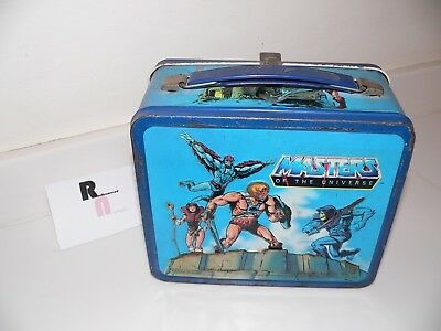Vintage He-Man & Masters of the Universe Metal Lunch Box No Thermos