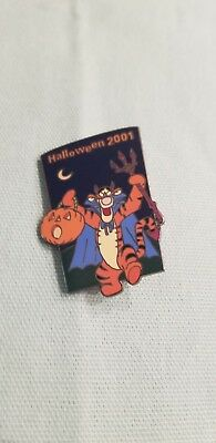 Disney Pin, Disney Auctions Tigger Halloween 2001 RETIRED, Limited Edition 100