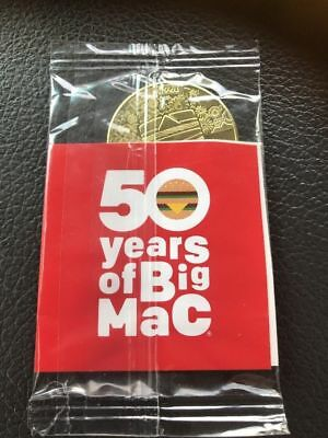 NEW McDONALDS BIG MAC COIN MACCOIN - 2008 - 2018