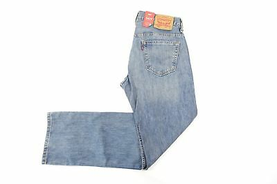 Levis 569 1271 Rugged Blue 30x34 Loose Straight Jeans Mens Nwt New