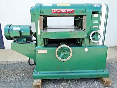 "18"" Powermatic Model 180 7.5HP 220v 3ph Power Wood Planer Made in USA WE SHIP"