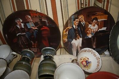 Norman Rockwell collector plates - set of 5 different $100.00 for all