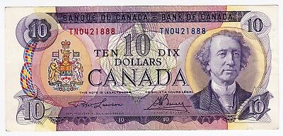 Canada Banknote 10 Dollars Ottawa 1971 Great Colours Extra Fine - L@@k!