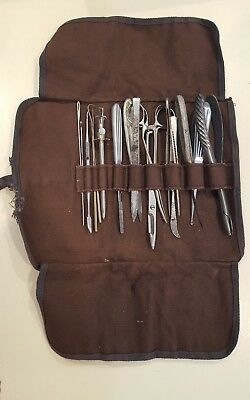 antique field surgery set