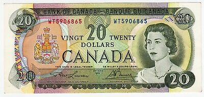 CANADA BANKNOTE 20 DOLLARS OTTAWA 1969 GREAT COLOURS good/EF