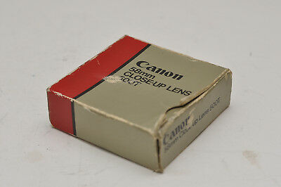 Canon CLOSE-UP LENS 500 T 58mm Nahlinse FD AE-1 A1