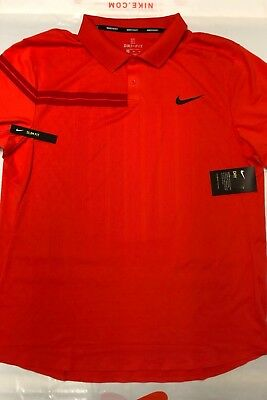 Nike Court Advantage RF Mens Tennis Polo Size XXL