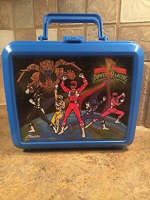 "Vintage 1993 Saban ""Mighty Morphin Power Rangers"" Aladdin Lunch Box W/O Thermos"