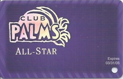 Las Vegas Palms Casino All Star Slot Card #1