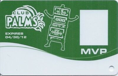 Las Vegas Palms Casino MVP Slot Card #8