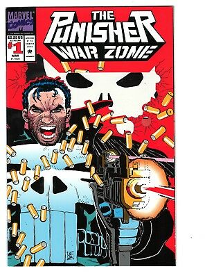 The Punisher: War Zone #1 (Mar 1992, Marvel) Fine+