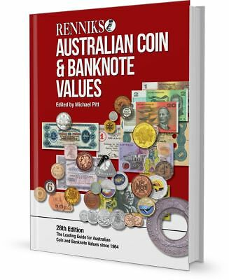 2017 Renniks Australian Coin & Banknote Values Book 28th Edition (Softcover)