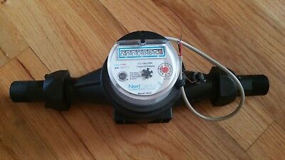 "Next Century Pulse Water Meter  3/4"" or 1"" Connect  Hot & Cold  NSF Certified!!!"
