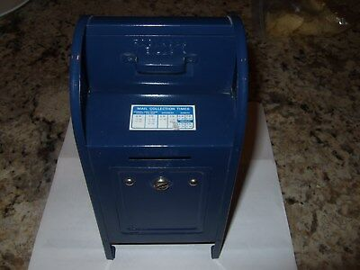 Vintage US Mail Mailbox Bank Post Office