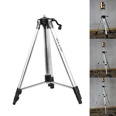 110/150cm Tripod Carbon Aluminum With 5/8 Adapter For Laser Level Adjustable