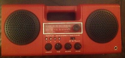 Realistic Portiplay 8 Track Player AM/FM Stereo