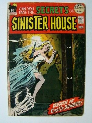 Secrets of Sinister House #5 DC Horror/Romance Comics 1972 VG