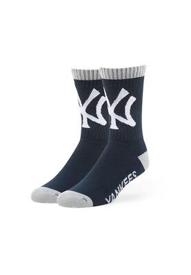 47 Marca Calcetines Ny Yankees Azul Gris