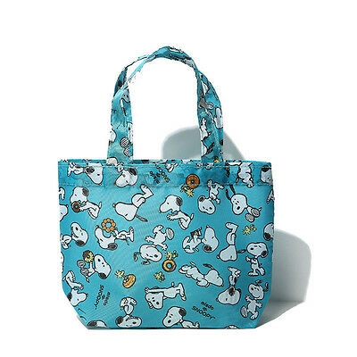 new snoopy peanuts PEANUTS SNOOPY  Mini Tote Bag Lunch Purse Han Ca UN 74 er76