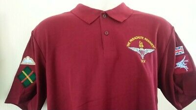 PARACHUTE REGIMENT EARNED NOT ISSUED POLO SHIRT
