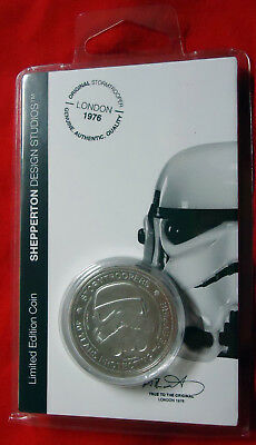 Star Wars Stormtrooper - Limited Edition Coin - Silver Edition - NEU