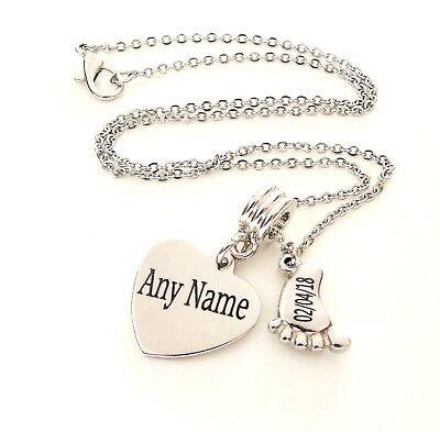 Personalised baby loss necklace miscarriage loss of a baby memorial gift infant