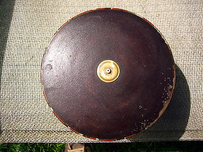 Antique or Vintage Chinese ? or Japanese ? oriental wooden lacquer round box