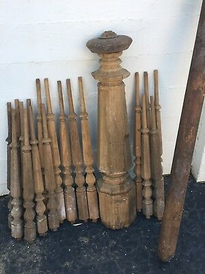 Antique Bannister, Baluster, staircase, 1800s