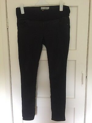 Topshop MOTO Maternity Leigh Skinny Jeans Black Size 12 L32