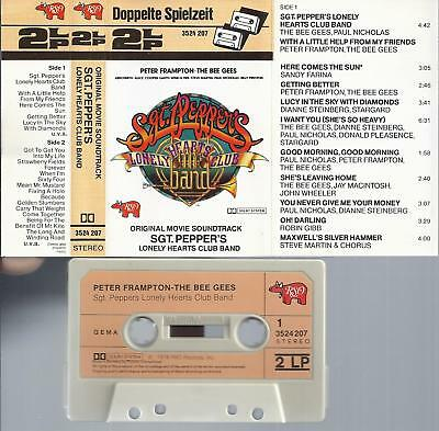 SGT. PEPPER'S LONELY HEARTS CLUB BAND  OST -MC- mit Bee Gees, Peter Frampton u.a