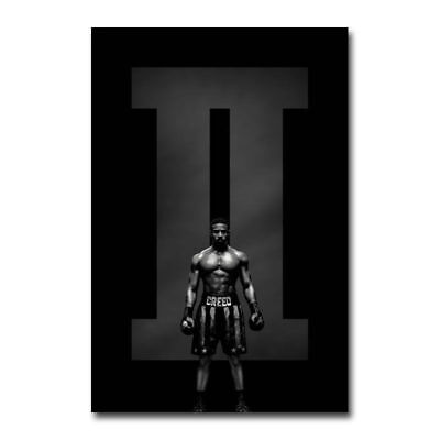 Creed II 2 4ft x 6ft Bus Shelter D/S Sylvester Stallone 2018 Movie Poster Jordan