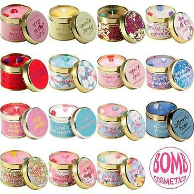 Bomb Cosmetics Scented Tin Candles