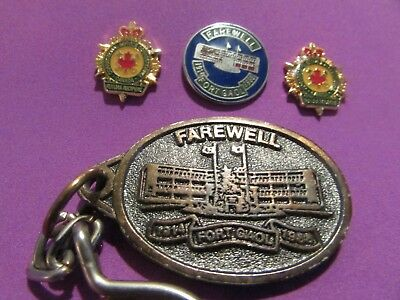 "AB Corrections ""Farewell To Fort Goal"" Keychain, Pin & Corrections Canada Pins"