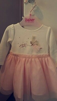 Ted baker baby girl Tu Tu dress with tights 0-3 months BNWT Stunning