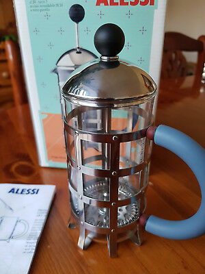 Alessi MGPF 3 3 Cups Coffee Maker - Stainless Steel