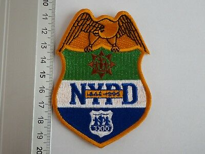 NYPD New York Police patch eagle I USA Polizei Abzeichen