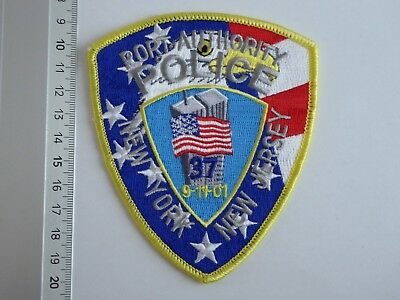 NYPD New York New Jersey Port Authority Police 9/11 patch USA Polizei Abzeichen
