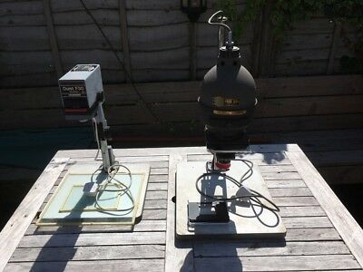 Enlargers & Developing Kit Durst F30 & Prinz 500 Filter Domes Trays Etc