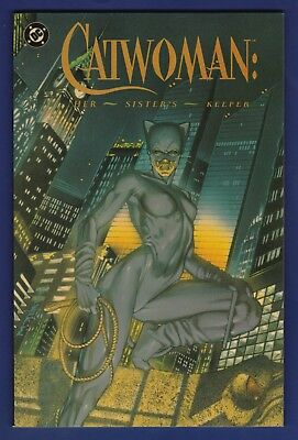 Catwoman : Her Sister's Keeper TPB   1st Print 1989 DC 1 2 3 4