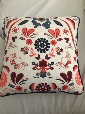 Disney Throw Pillow Mickey And Minnie Reversible