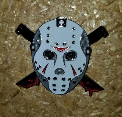 Friday the 13th Enamel pin Jason Vorhees Sold Out Rare Horror LE