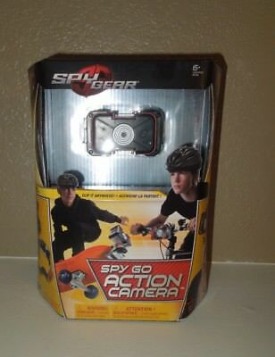 Kids Camera Spy Gear Spy Go Action Camera Clip-On Ages 6 years and up