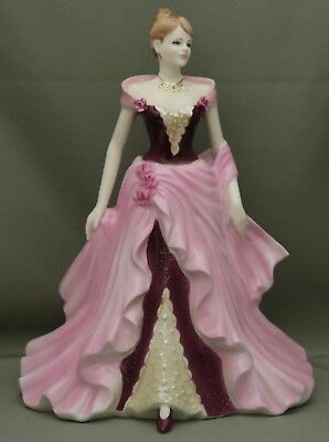 "Coalport Figurine - ""Fay"" - Ladies of Fashion - **Limited Edition Number 1685**."