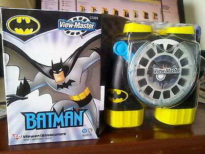 Hard To Find Viewmaster Gift Batman Viewer/binoculars  - New In Sealed Box